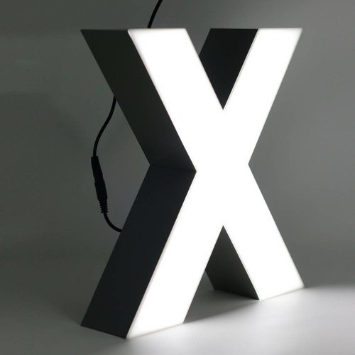 iLUTE Quizzy LED Buchstabe X