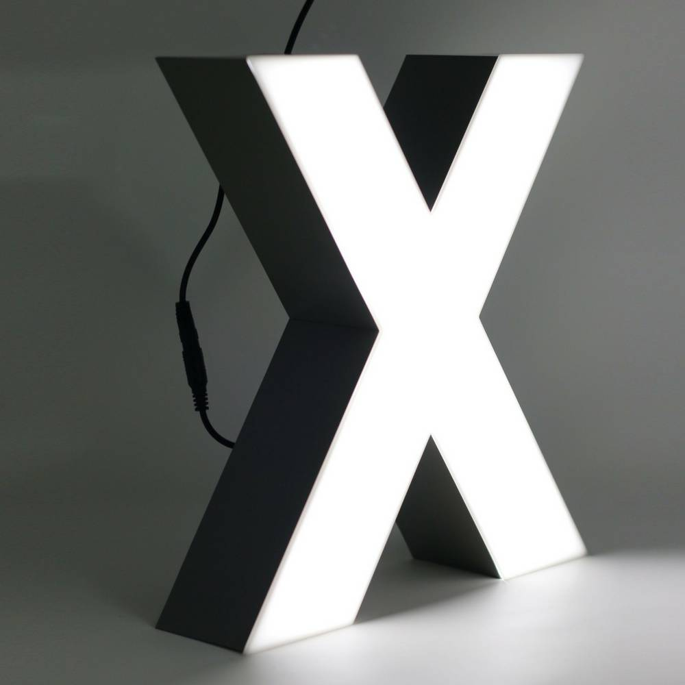 Quizzy LED Letter X-1