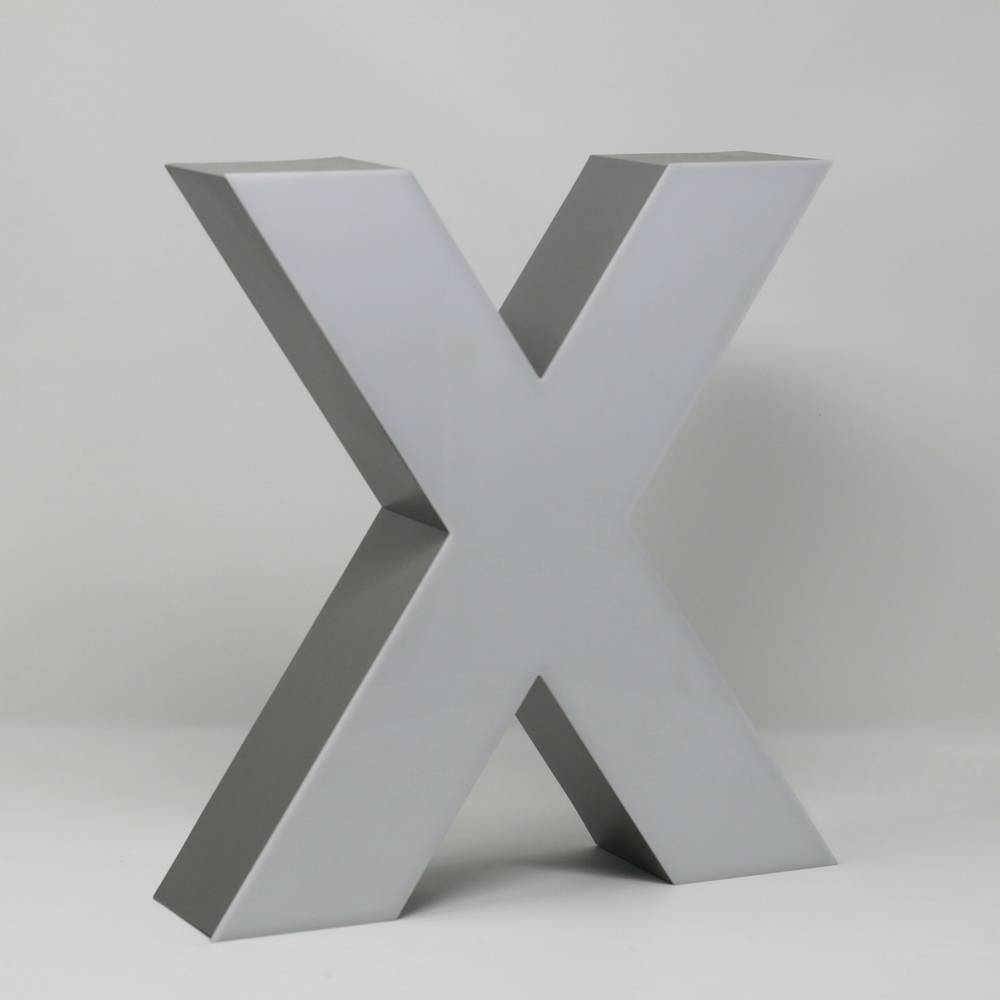 Quizzy LED Letter X-3