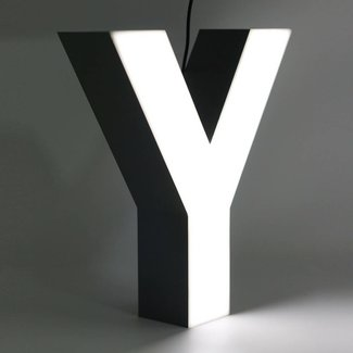 Quizzy LED Letter Y