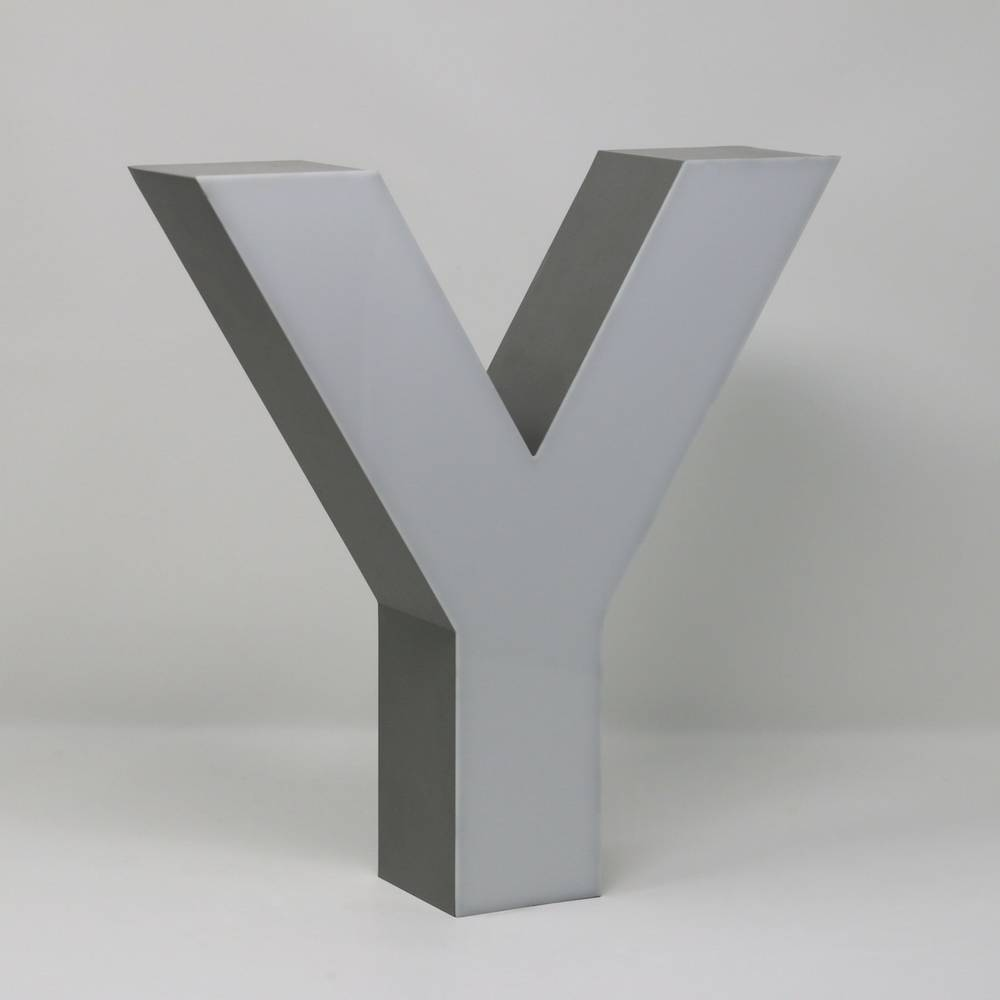 Quizzy LED Letter Y-3