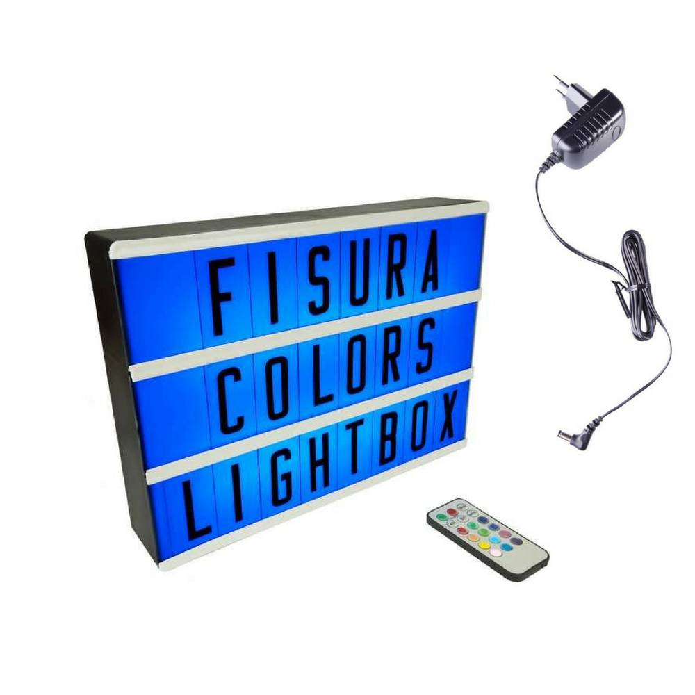 Lightbox A4 | Color Changing + Remote Control-2