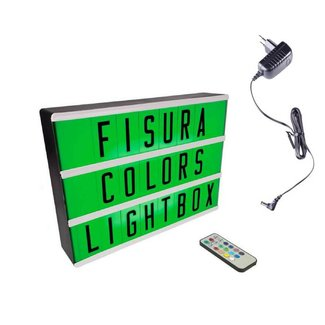 FISURA Lightbox A4 | Color Changing + Remote