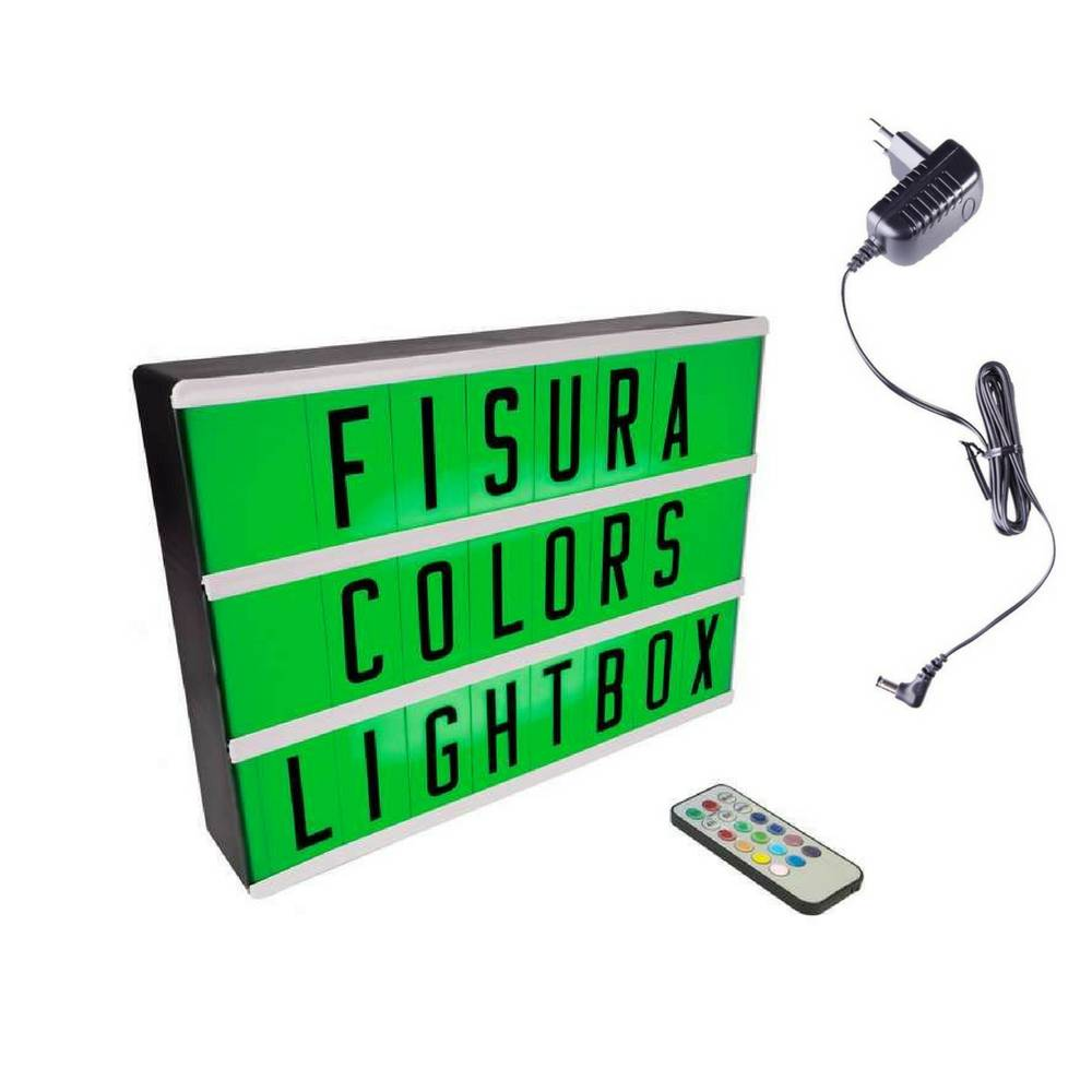 Lightbox A4 | Color Changing + Remote Control-1