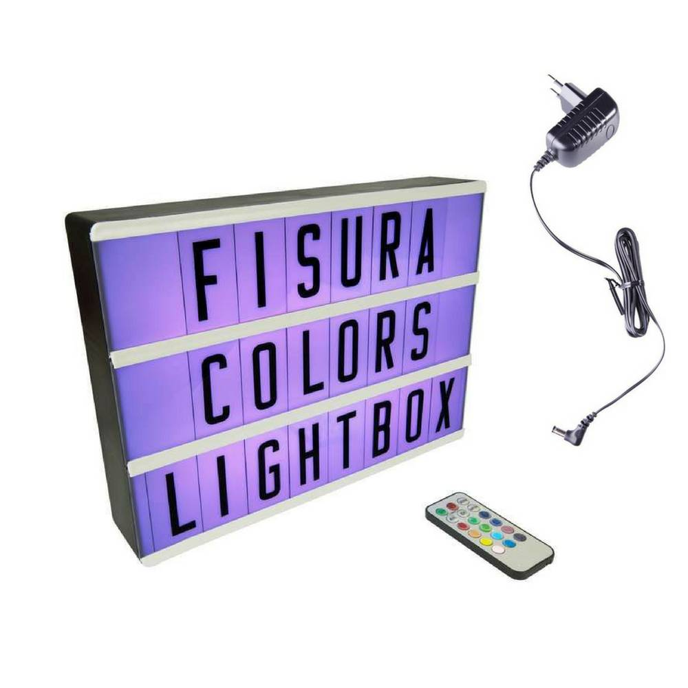 Lightbox A4 | Color Changing + Afstandsbediening-4