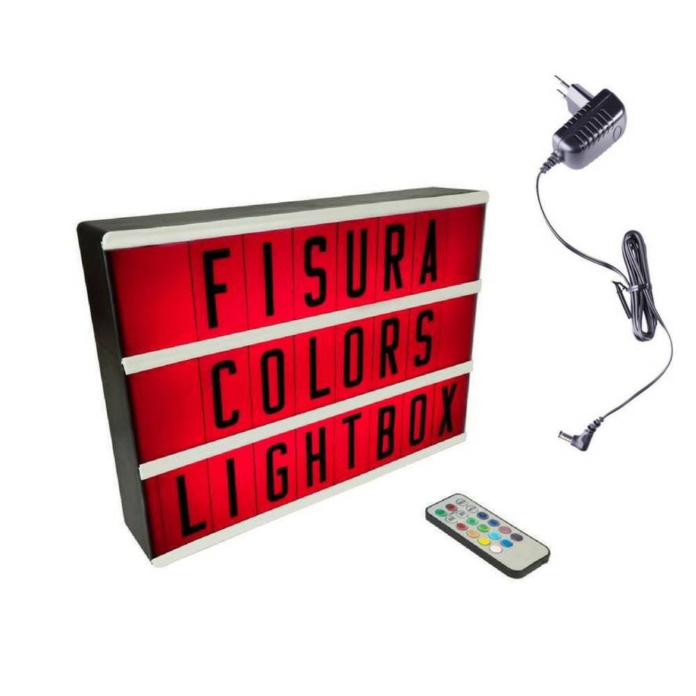 Lightbox A4 | Color Changing + Afstandsbediening-3