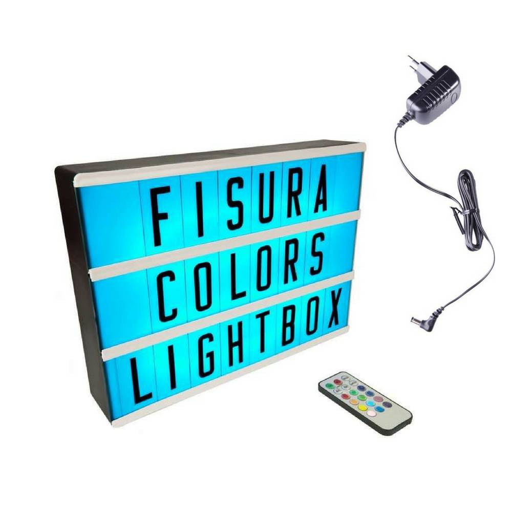Lightbox A4 | Color Changing + Afstandsbediening-6