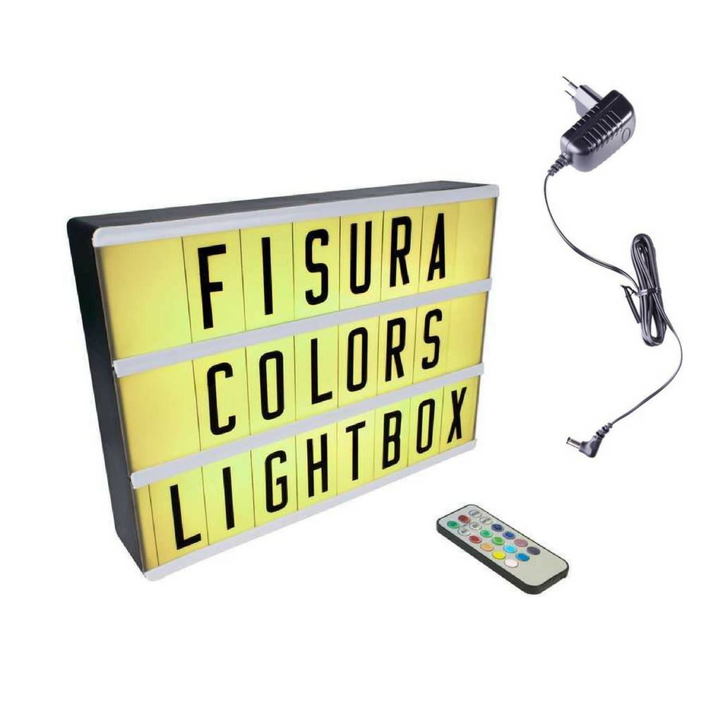 Lightbox A4 | Color Changing + Remote Control-5
