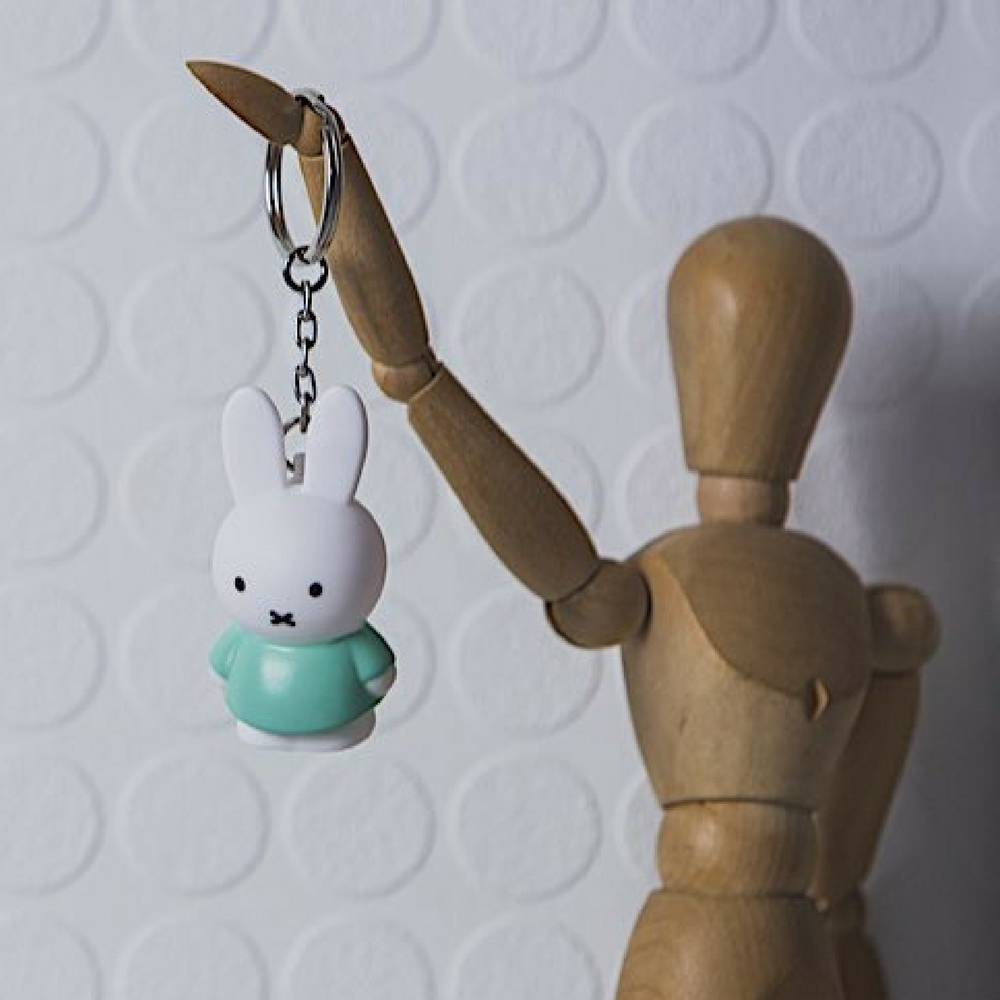 MIFFY Keyring in 3D-9