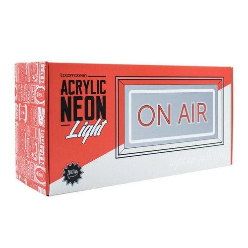 "LOCOMOCEAN NEON ""On Air"" Box"