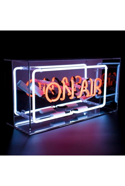 "NEON LIGHTBOX ""ON AIR"""