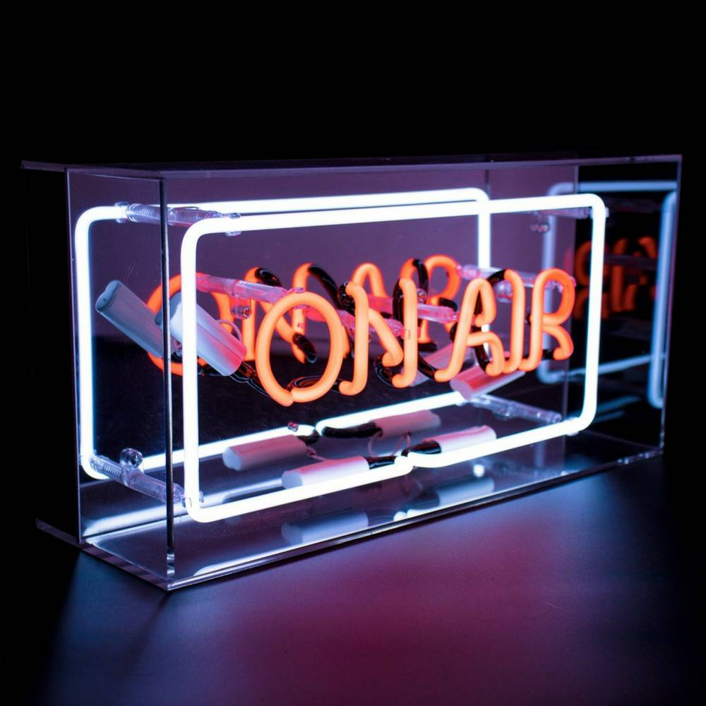 "Neon ""On Air"" Lightbox Sign-1"