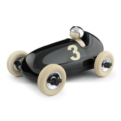 PLAYFOREVER BRUNO Racing Car in Black & Chrome