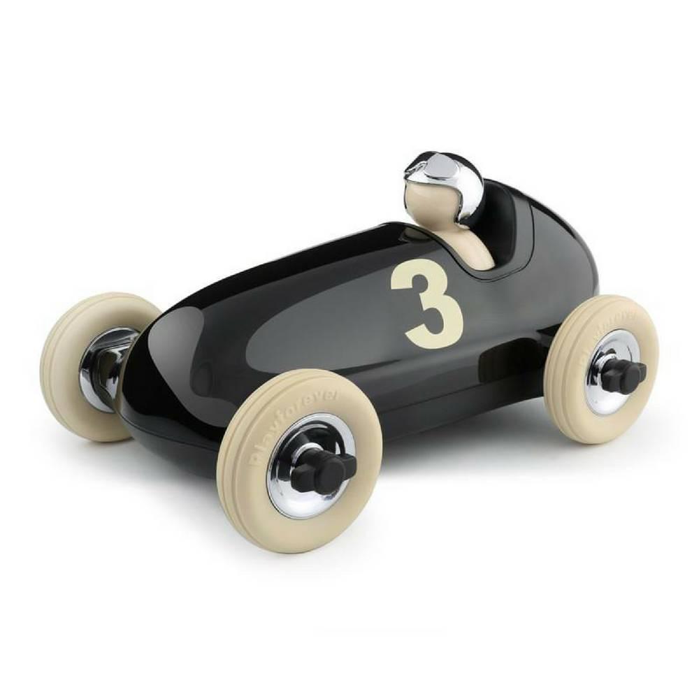 BRUNO Racing Car in Black & Chrome-1