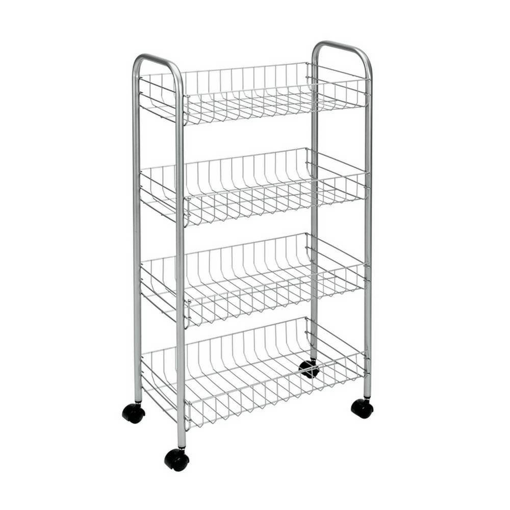 """Ascona"" Trolley in Silver-1"