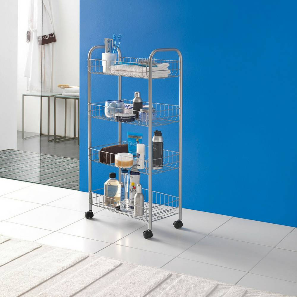 """Ascona"" Trolley in Silver-2"