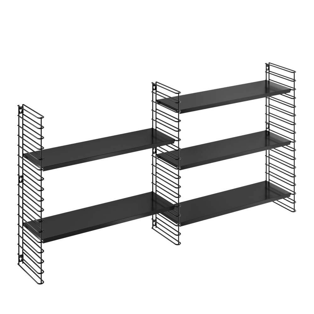 Horizontal Expansion Kit in Black-2