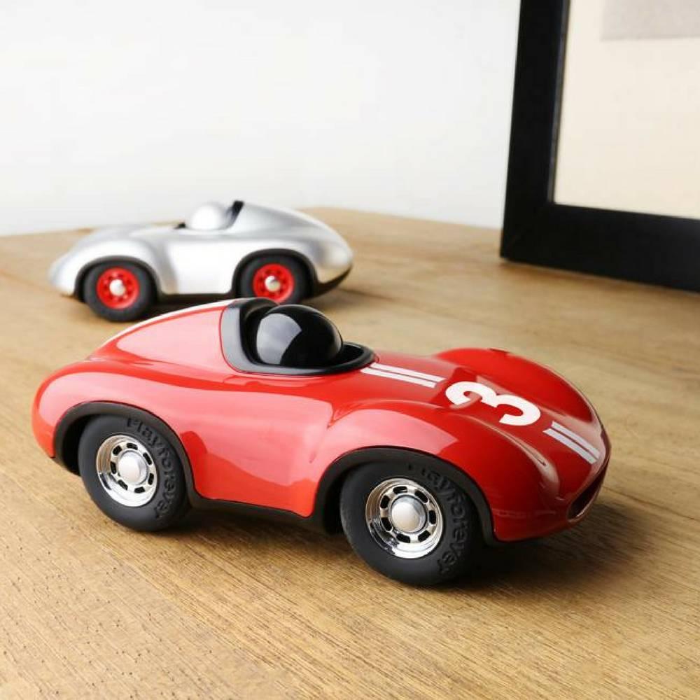 """Racewagen """"Speedy Le Mans"""" in Rood-2"""