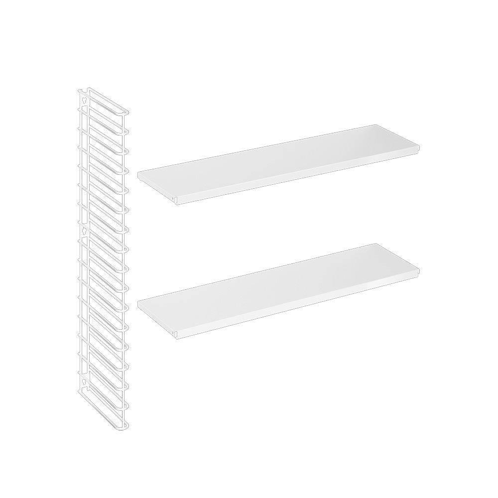 Horizontales Erweiterungsset in Weiß-1