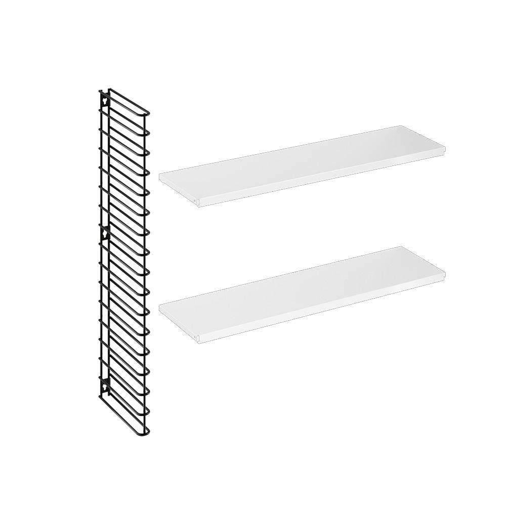 Horizontal Expansion Kit in Black & White-1