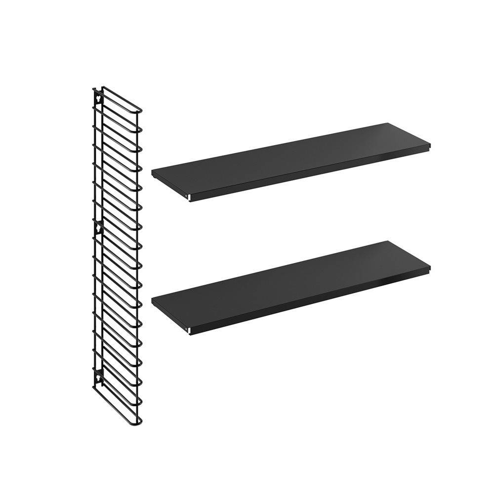 Horizontal Expansion Kit in Black-1