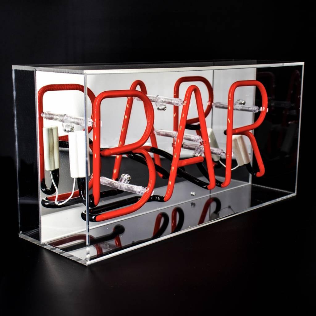 "NEON ""BAR""  Acrylic Box-2"