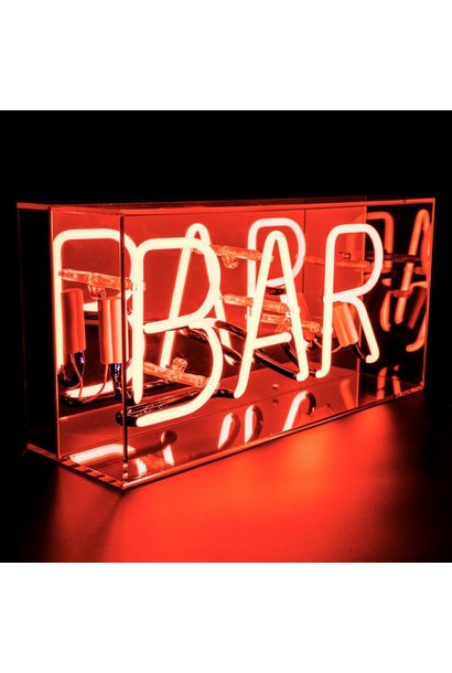 "NEON LIGHTBOX ""BAR"""