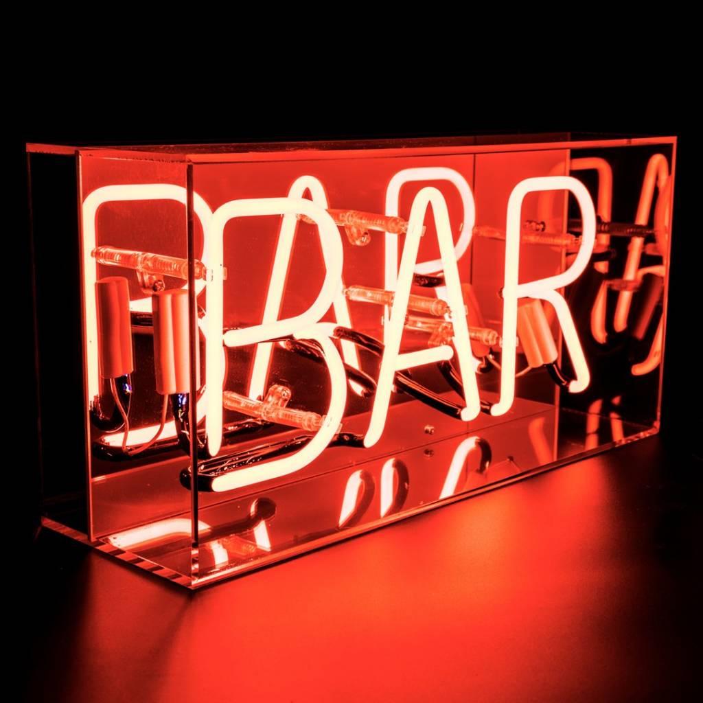 "NEON ""BAR""  Acrylic Box-1"