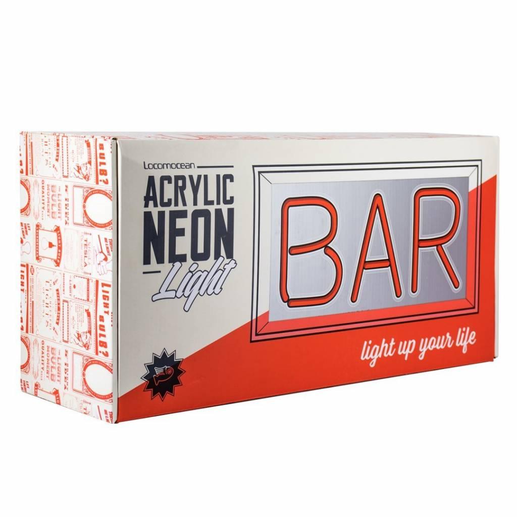 "NEON ""BAR""  Acrylic Box-3"