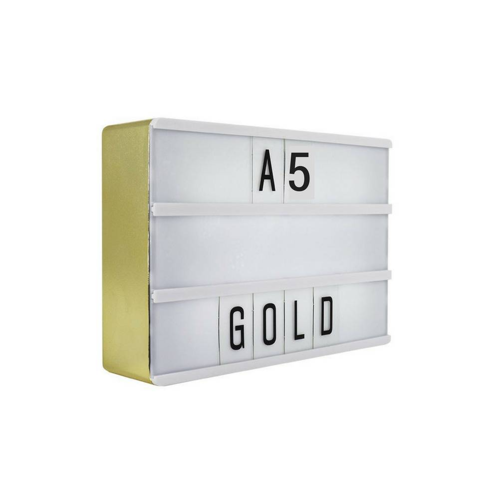 LIGHTBOX A5 | Gold-1
