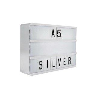 LOCOMOCEAN LIGHTBOX A5 | Silber