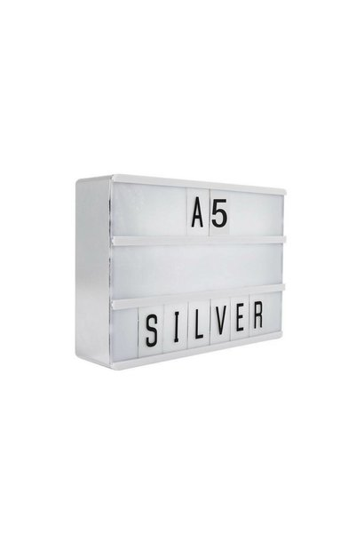 LIGHTBOX A5 | Zilver