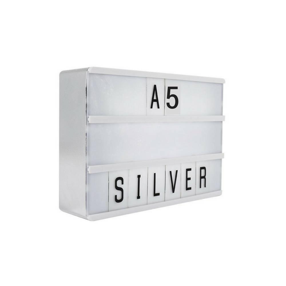LIGHTBOX A5 | Silber-1
