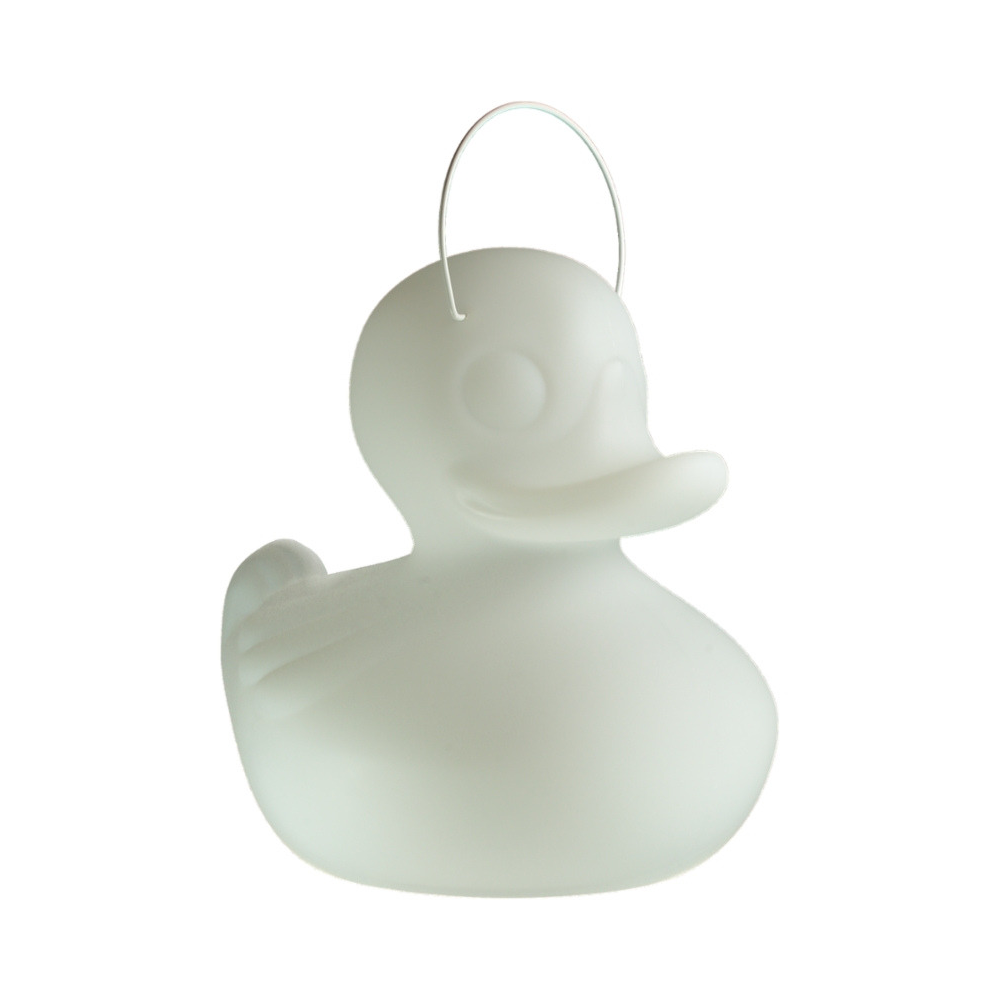 Kleine Kermis-Bad-Eend Lamp Wit-1