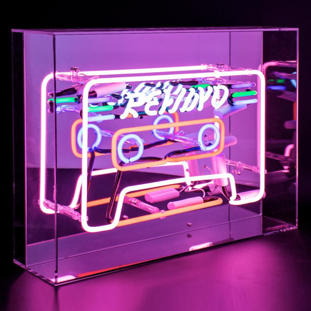"Neon ""Rewind"" Lightbox Sign-1"