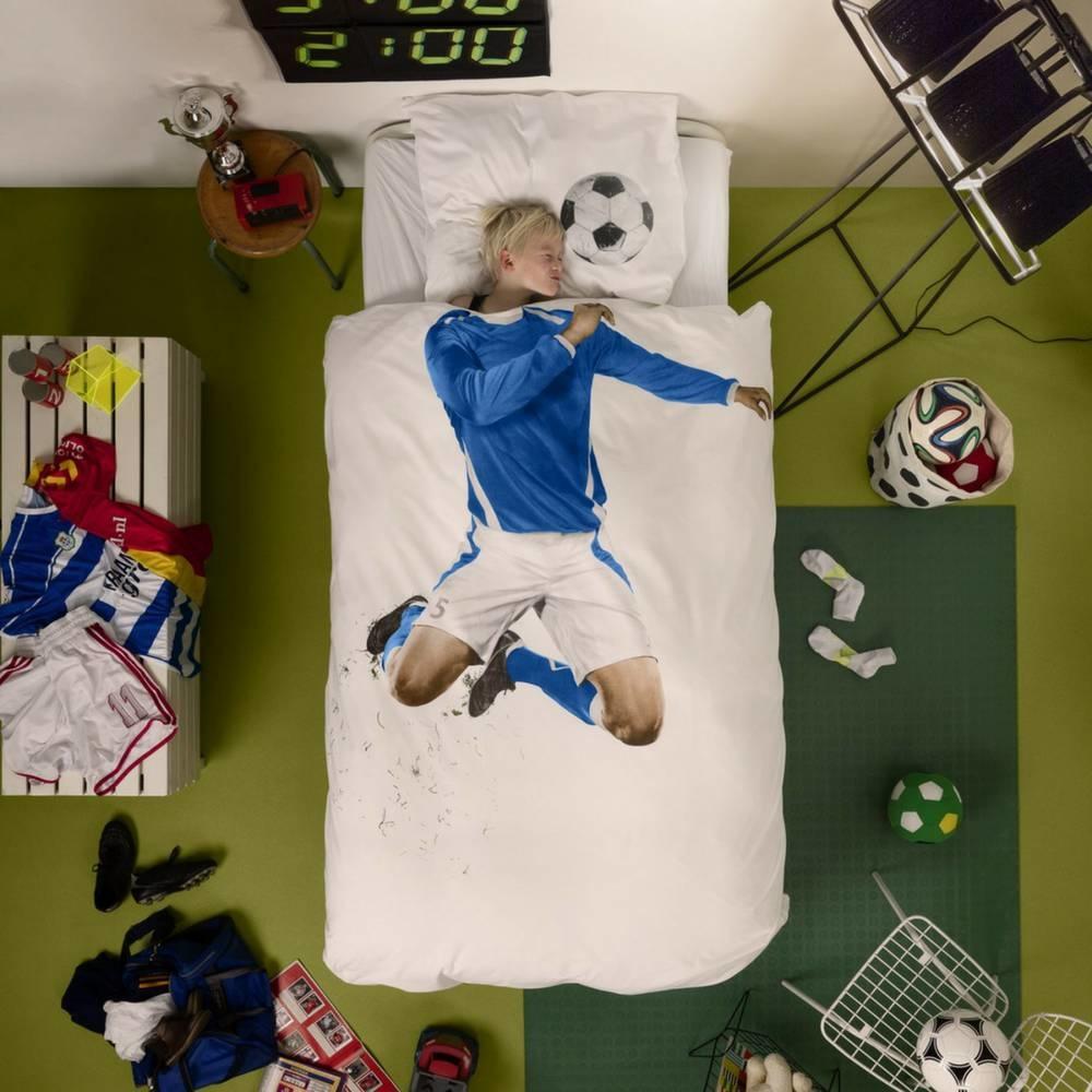 Dekbedovertrek voetballer-2