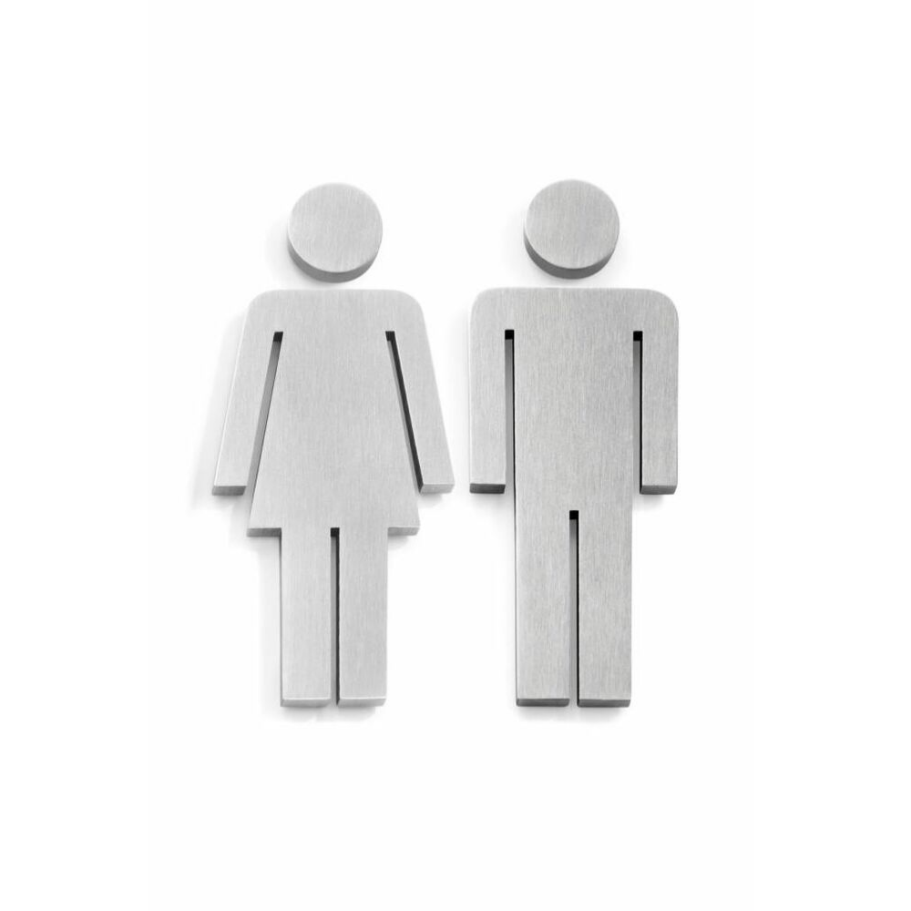 Türsymbol Frau & Mann-1