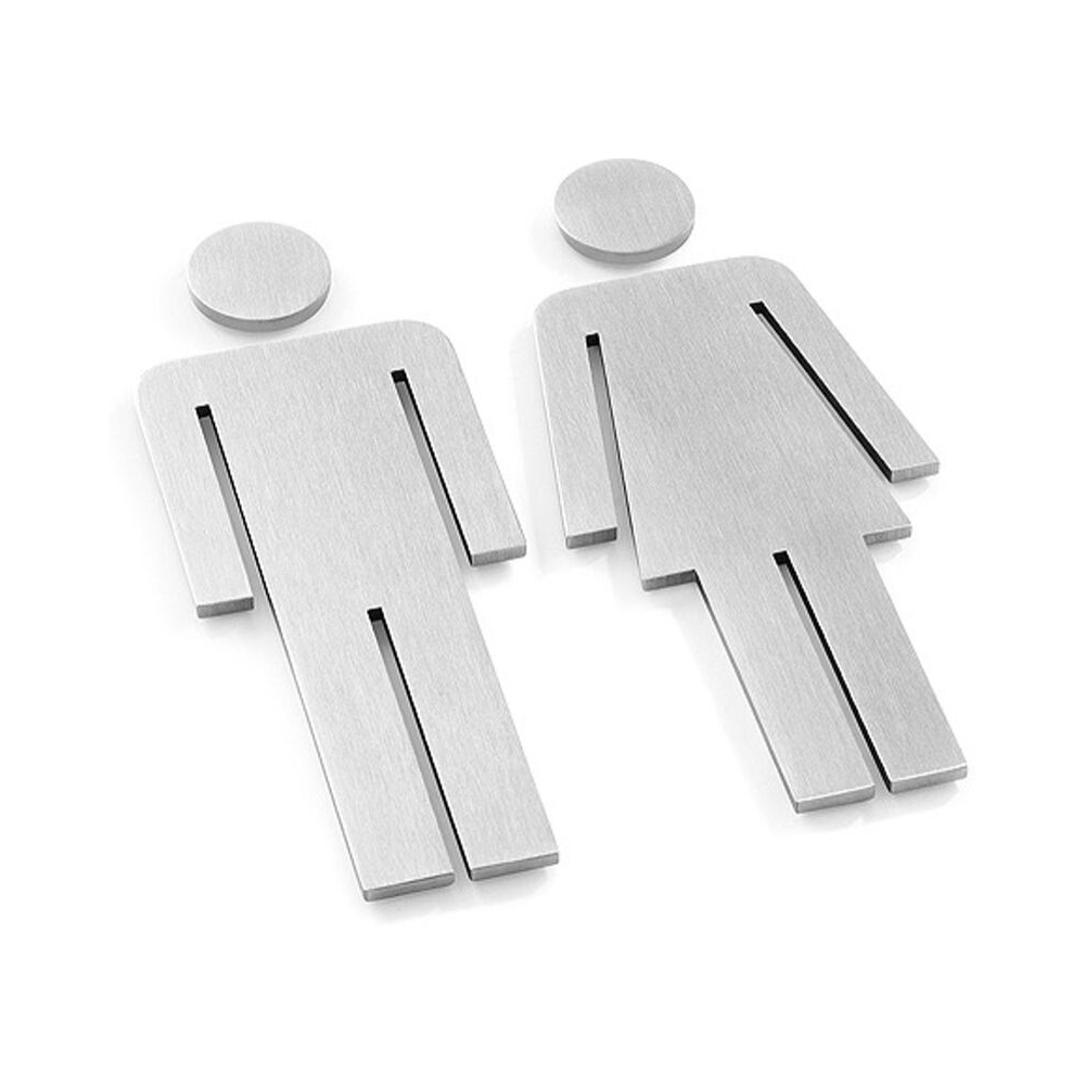 Türsymbol Frau & Mann-2