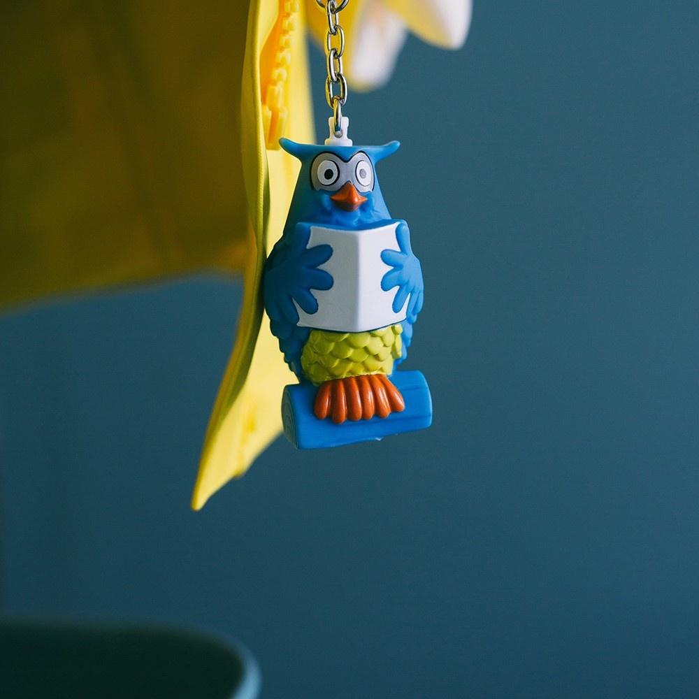 """Mister the Owl from """"De Fabeltjeskrant"""" as Keychain-3"""