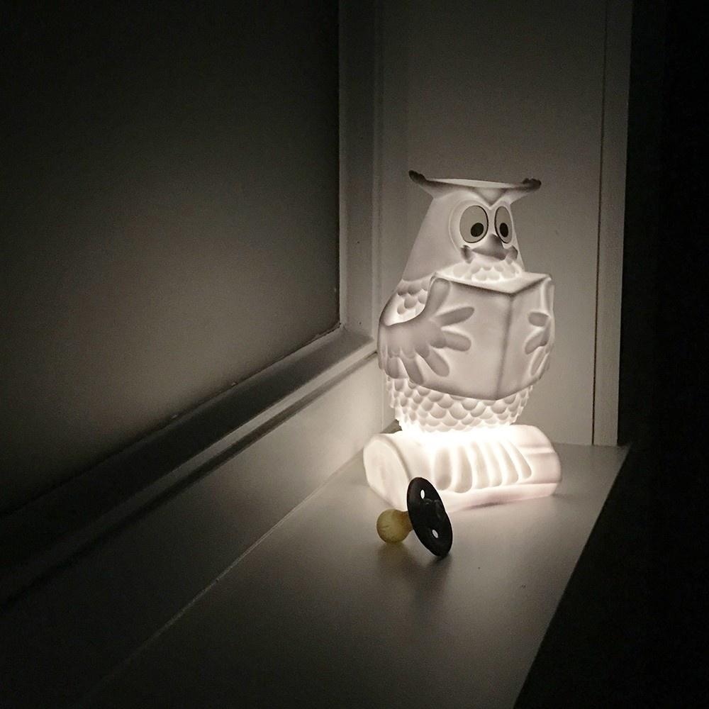 "Meneer de Uil uit ""De Fabeltjeskrant"" Nachtlampje-6"