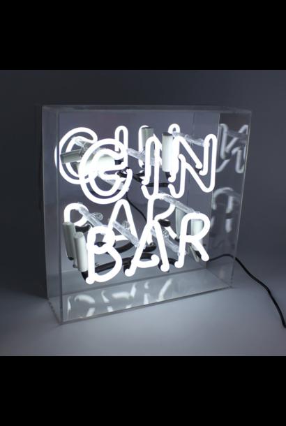 """Neon """"Gin Bar"""""""