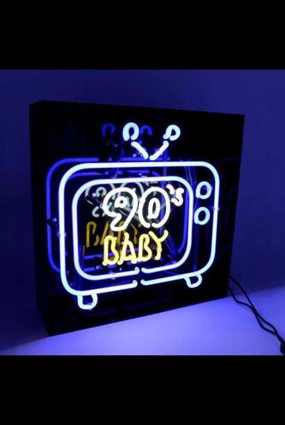 """Neon """"90's Baby Tv"""""""