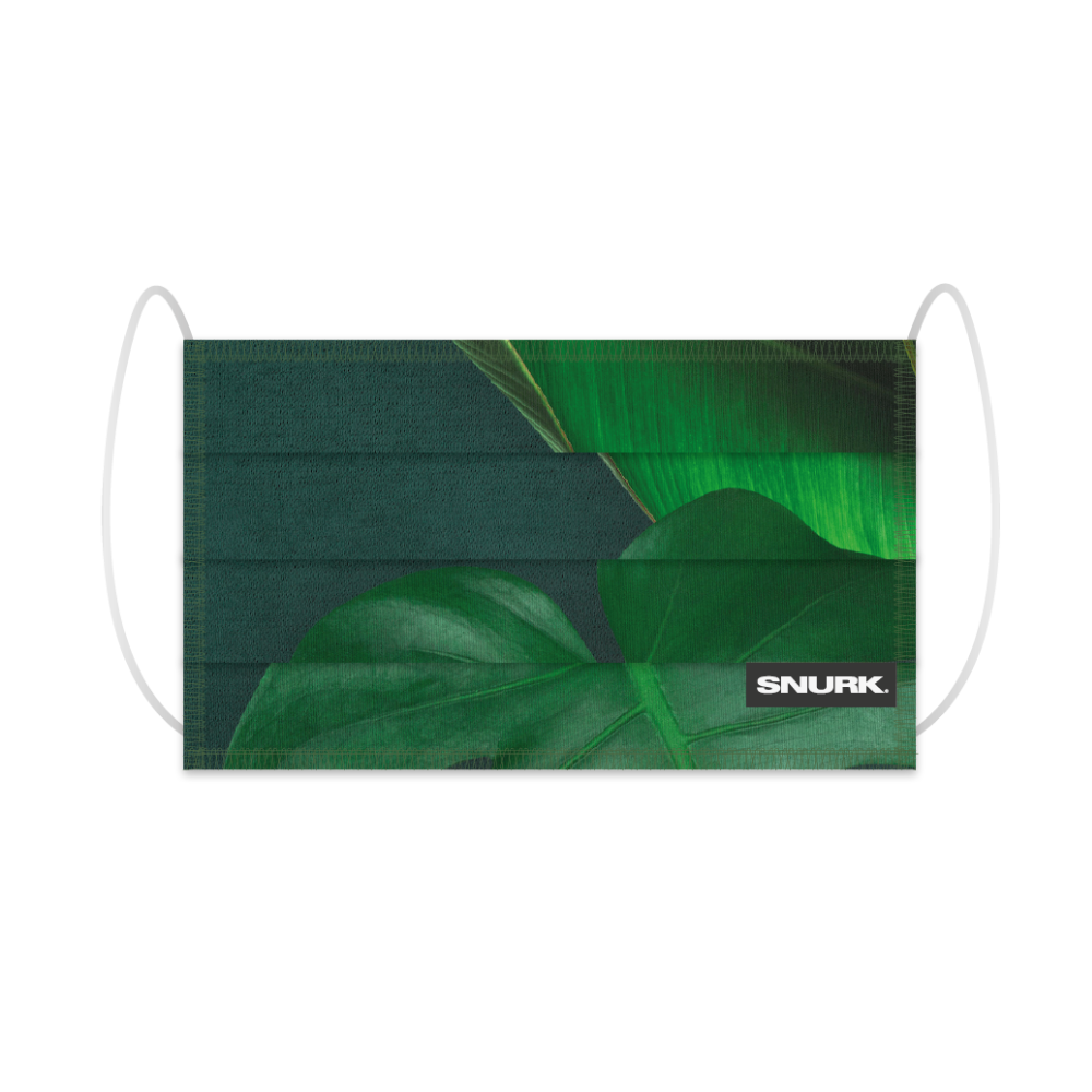 """Reusable Mouth Mask """"Green Forest""""-1"""