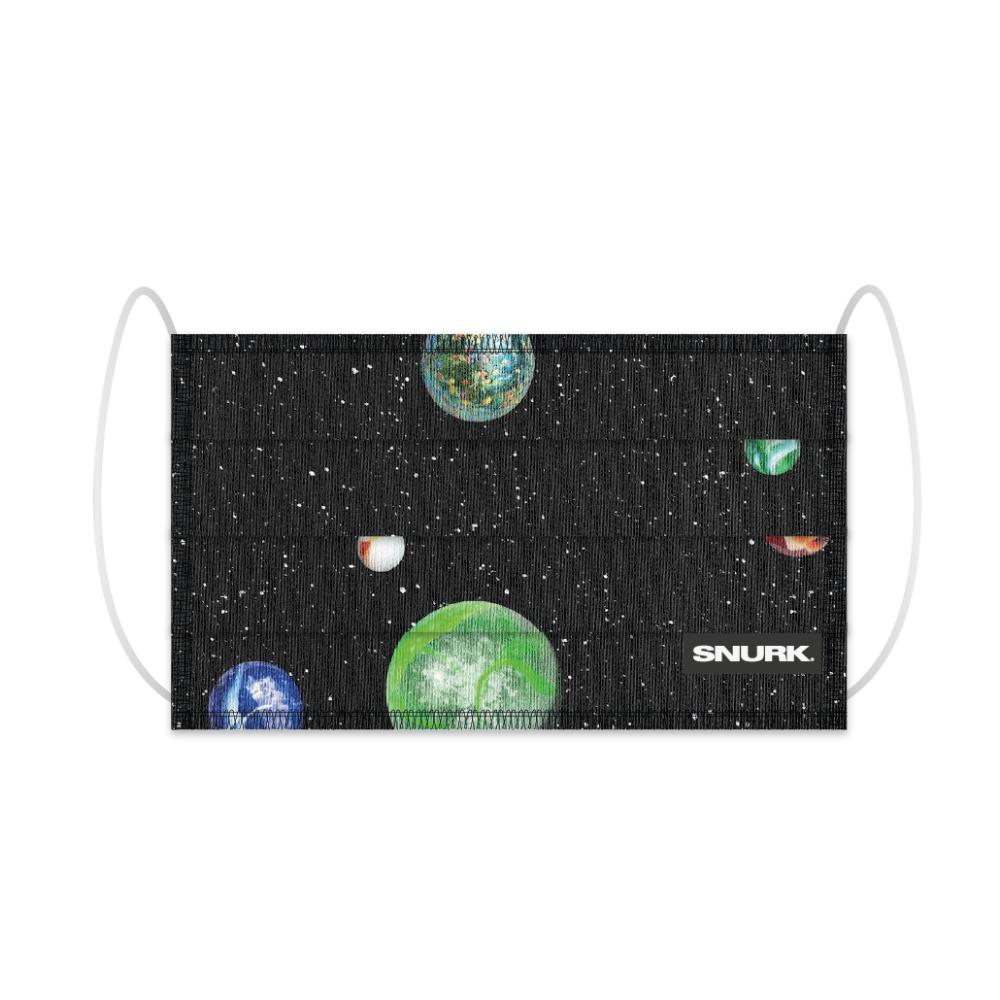 """Herbruikbaar Mondmasker """"Marble Universe""""-1"""