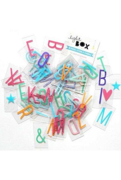 LIGHTBOX Pack Pastel | H = 6,5 Cm