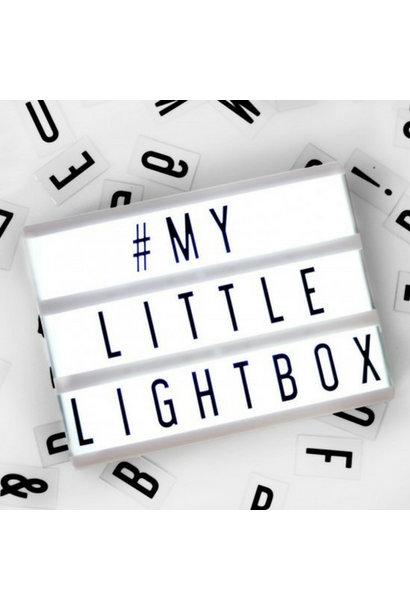 LIGHTBOX A5 | Zwart - Micro USB