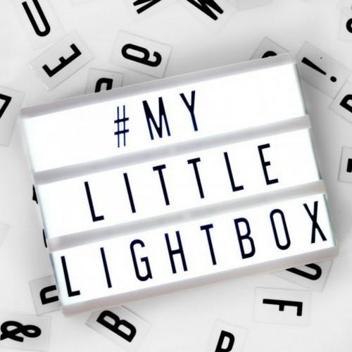 A5 Letter Lichtbak in Zwart met Micro USB Input-1