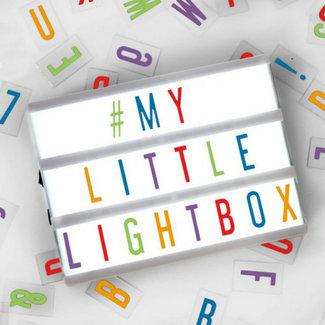 LOCOMOCEAN LIGHTBOX A5 | Wit - Micro USB