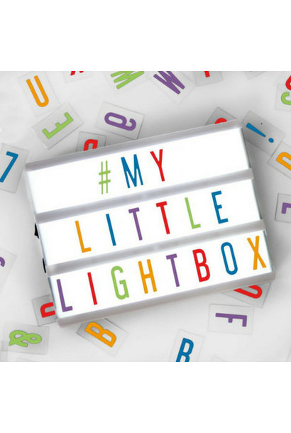 LIGHTBOX A5 | Wit - Micro USB