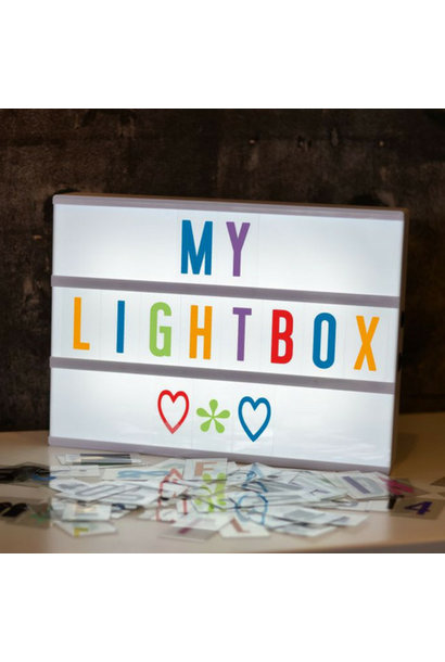 LIGHTBOX A4 | Wit - Micro USB
